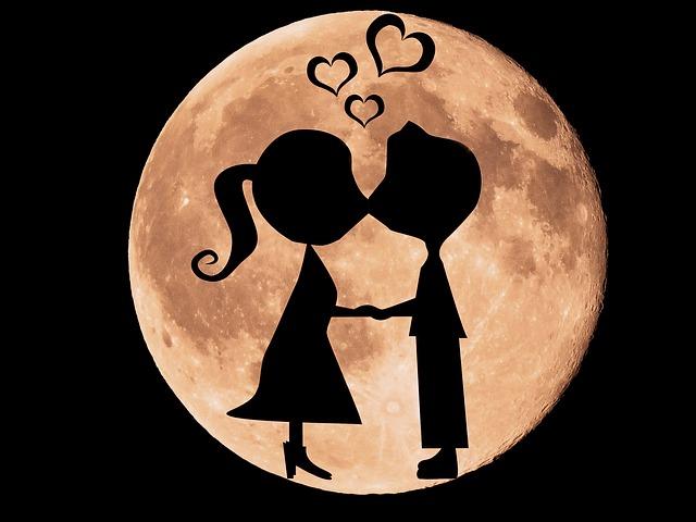 Partner mit den gleichen Mondzeichen